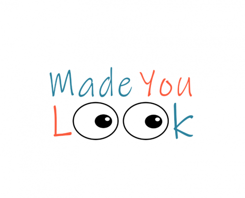 Made You Look text