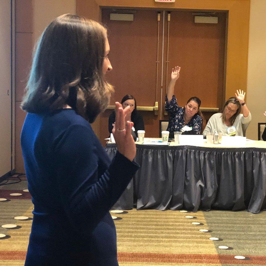 Melissa Synova Speaking
