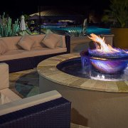 25th Anniversary Hotel Picture Firepit